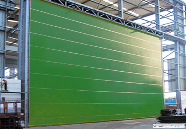 Sliding hangar doors india shipyard